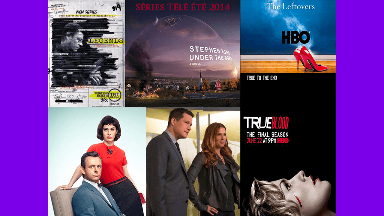 Les meilleures séries télévisées de l'été 2014