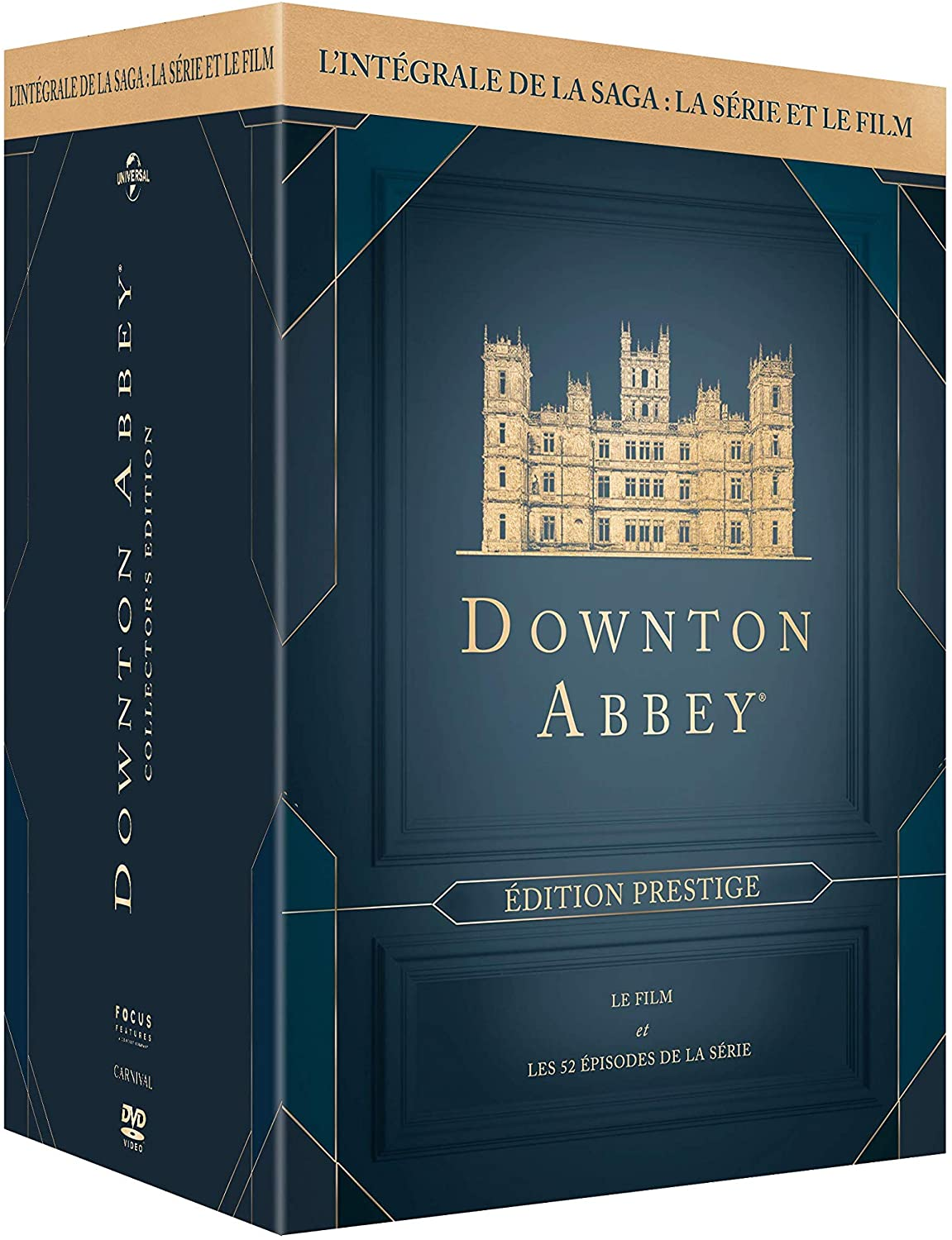 Downton Abbey – L'intégrale Saisons 1 à 6 + film – BLURAY
