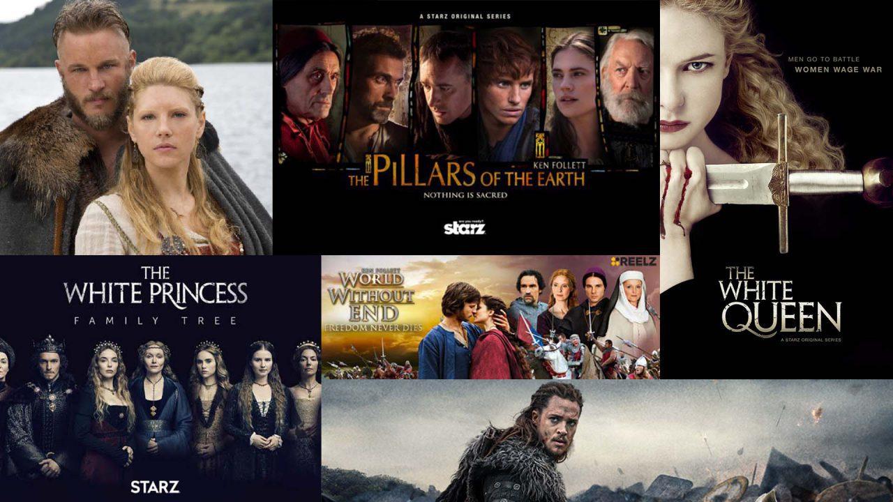 Devenez fan de séries télévisées sur le Moyen-Âge