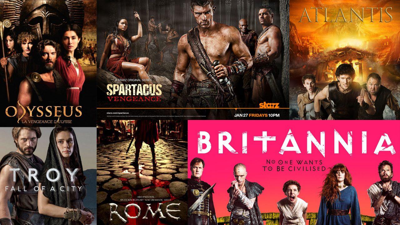 Devenez fan de séries télévisées sur le thème de l'Antiquité