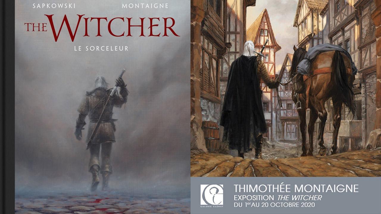 Sofandeseries vous emmène découvrir l'exposition The Witcher illustré