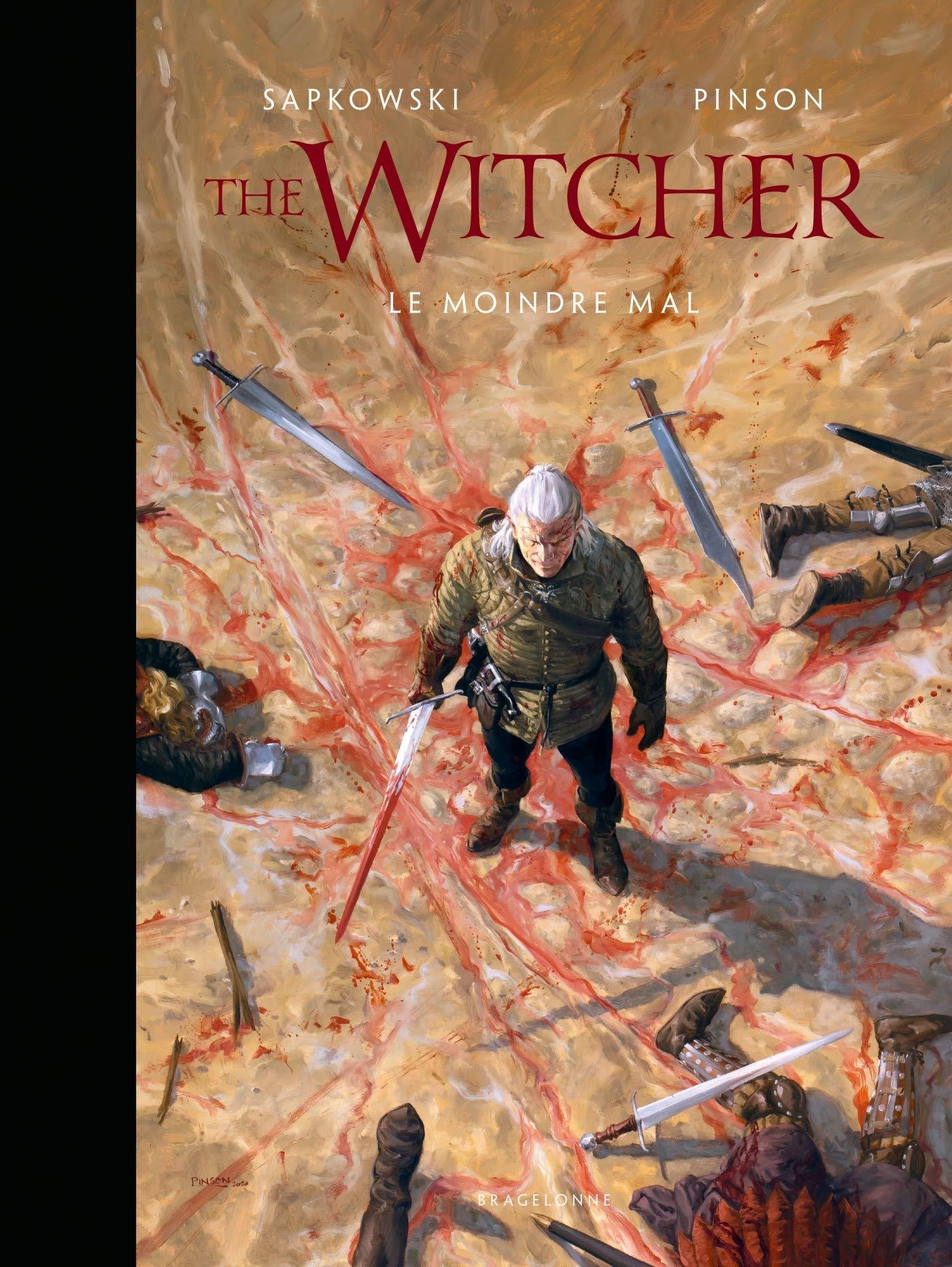 L'Univers du Sorceleur – The Witcher illustré : Le moindre mal / The Witcher